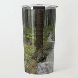 Water always flows downhill Travel Mug