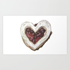 Holiday Love Cookie Art Print