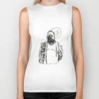 notorious big Biker Tanks featuring Notorious BIG by Maddison