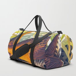 Great Red Breasted Rail John James Audubon Scientific Birds Of America Illustration Duffle Bag