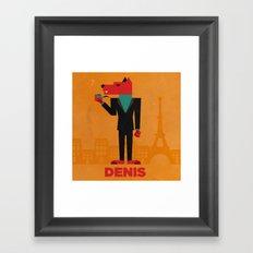 Denis (LE LOUP-GAROU)  Framed Art Print