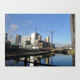 by Media City Canvas Print