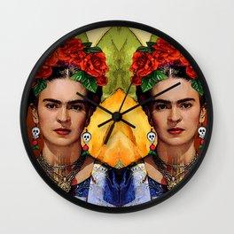 MI BELLA FRIDA KAHLO Wall Clock