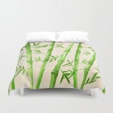Bamboo Pattern Duvet Cover