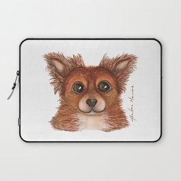 Alvin the Long-haired Chihuahua Laptop Sleeve
