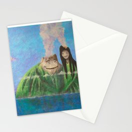 I Lava You Stationery Cards