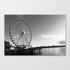 Seattle Great Wheel Canvas Print