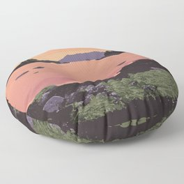 Pacific Rim National Park Reserve Floor Pillow