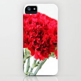 Red Carnation Photography iPhone Case