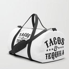 Tacos & Tequila Duffle Bag