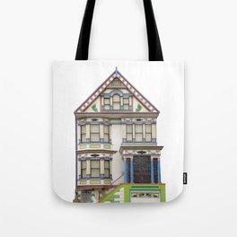 Rainbow House San Francisco Tote Bag