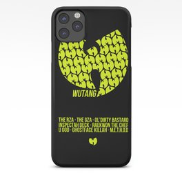 WU TANG CLAN Tribute iPhone Case