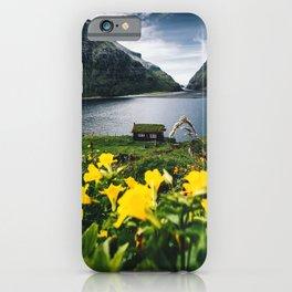 Cabin in Saksun - Faroe Islands iPhone Case