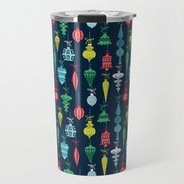 Ornaments - Xmas Pattern Travel Mug