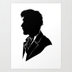 War Doctor - Standard Silhouette Art Print