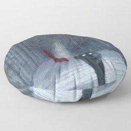 A Winters Tale Floor Pillow