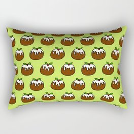 Christmas Pudding Pattern Rectangular Pillow