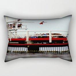Takin A Dive Rectangular Pillow