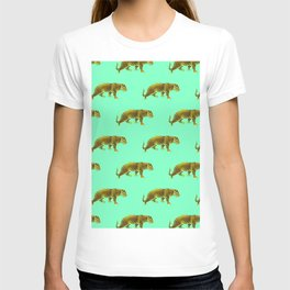 Vintage Cheetahs in Mint T-shirt