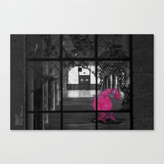 Unseen Monsters of San Francisco - Eqwnorkie Lowtide Canvas Print