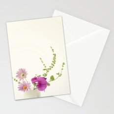 Simply Garden Flowers Stationery Cards