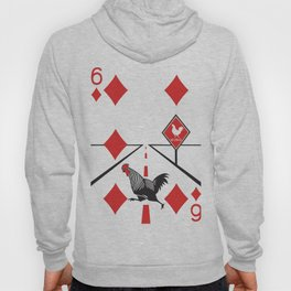 Clipped Wings Deck: The Six of Diamonds Hoody
