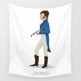 Mr. Darcy Wall Tapestry