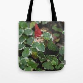 Peek-a-boo Gnome Tote Bag