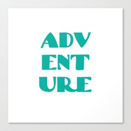 ADVENTURE Canvas Print