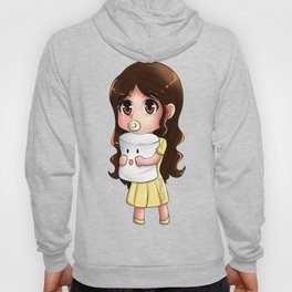 Baby Maine and Mr. Marshmallow Hoody