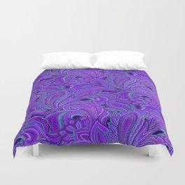 paisley paisley purple Duvet Cover