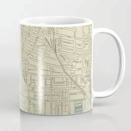 Vintage Map of Memphis Tennessee (1901) Coffee Mug