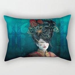 Queen of the Wild Frontier Rectangular Pillow