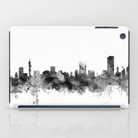 south africa iPad Cases featuring Pretoria South Africa Skyline by artPause