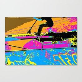 High-Flyin' Scooter Champ Canvas Print