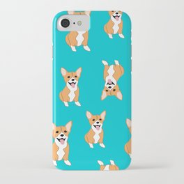 Jello the Corgi, Big Boots Don't Care iPhone Case