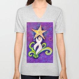 Star Dancer Unisex V-Neck