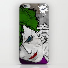 David Bowie as The Joker iPhone & iPod Skin