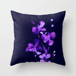 Organic Impressions 334zi by Kathy Morton Stanion Throw Pillow