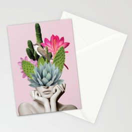 Cactus Lady Stationery Cards