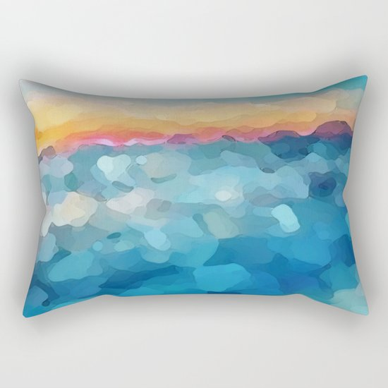 Some Faraway Beach Rectangular Pillow