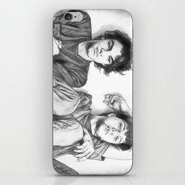 Gene & Dean Ween Graphite Drawing iPhone Skin