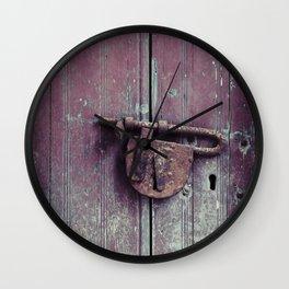 Padlock Wall Clock