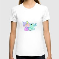 magical girl T-shirts featuring Magical pet (Baby Girl) by Olluga