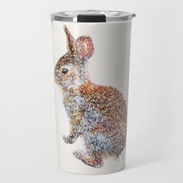 Wild Rabbit - Neutral Travel Mug