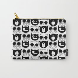 Hipster Cats Carry-All Pouch