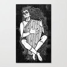 MUERTE ABRAZO Canvas Print