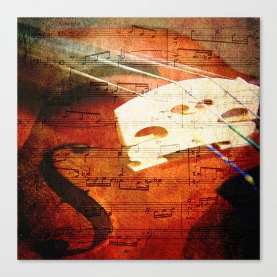 Suite Music Canvas Print