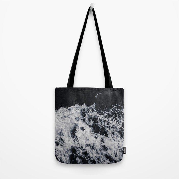 Waves #dark Tote Bag