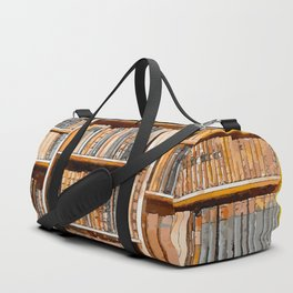 books background in watecolor style Duffle Bag